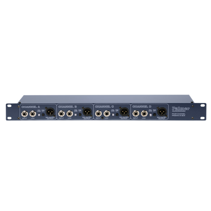Palmer PAN03PASS - Passive 4 Channel DI Box 19