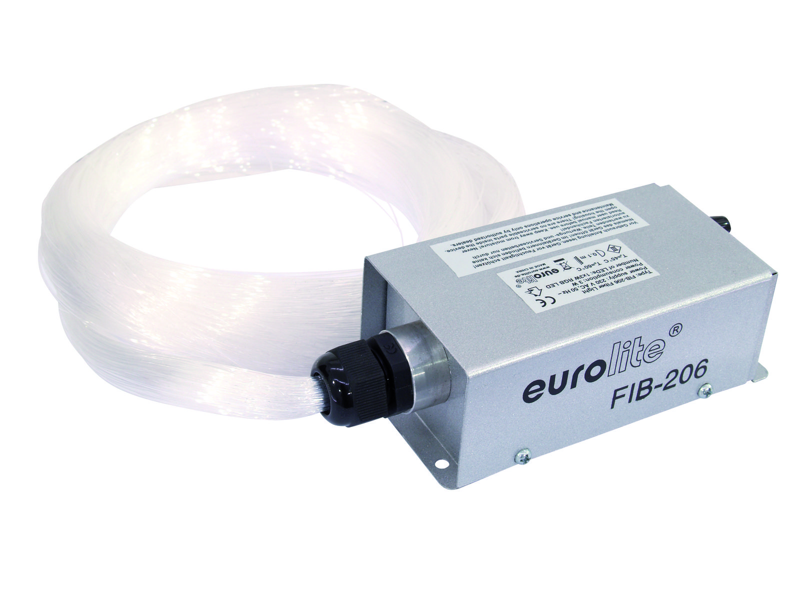 EUROLITE FIB-206 LED fiber light col. cha