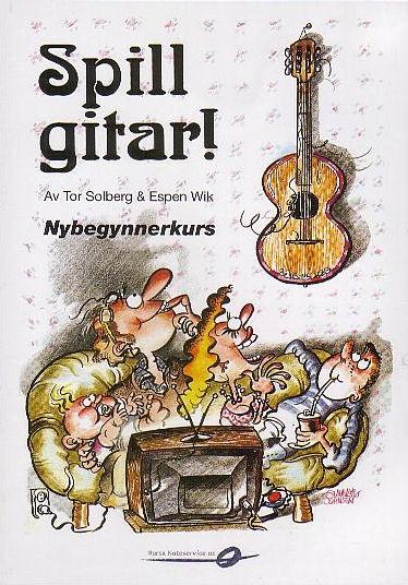 DVD  Spill Gitar DVD av Tor Solberg & Espen Wik