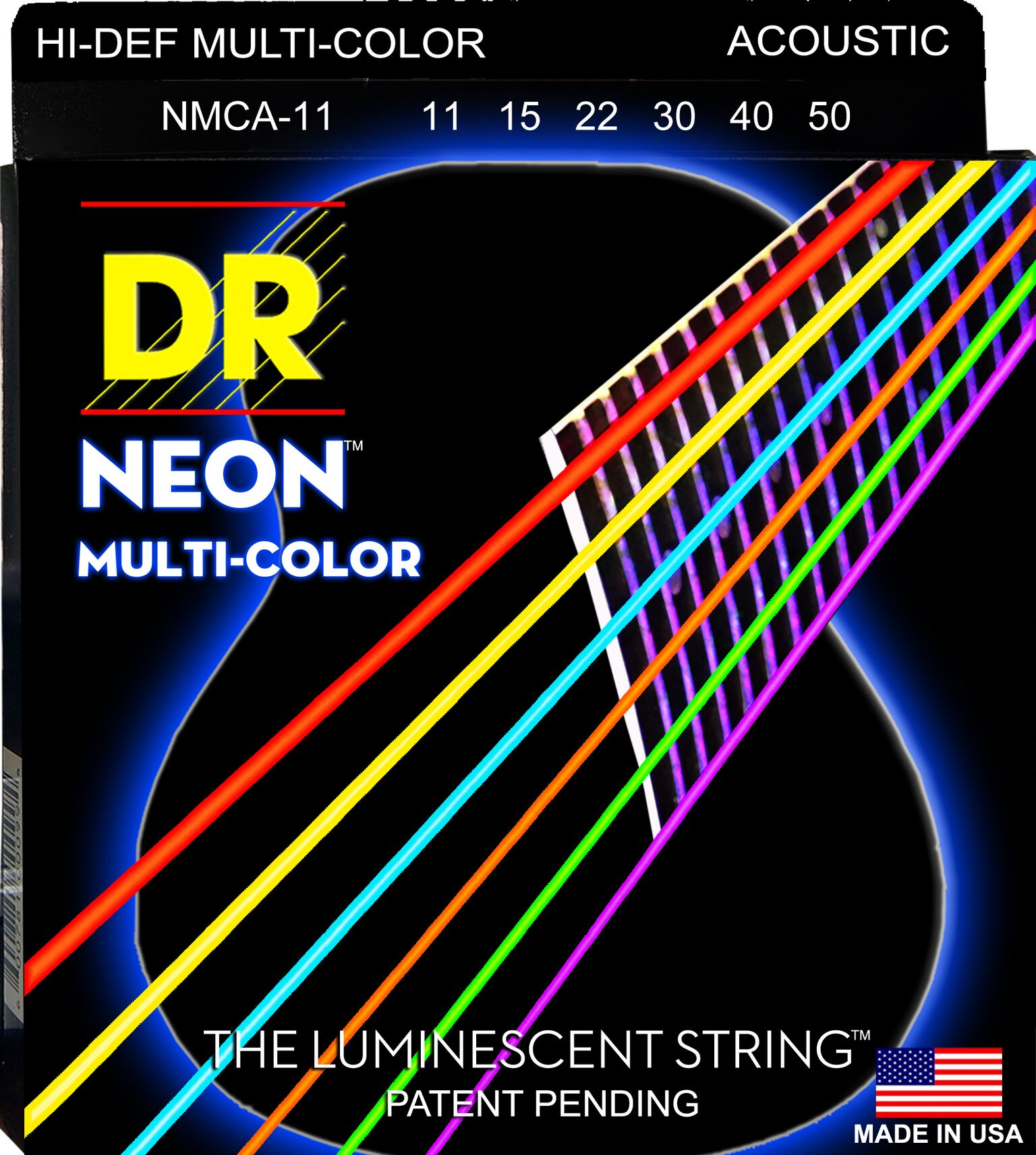 DR Multi Color MCA11 (011-050) Medium - Light