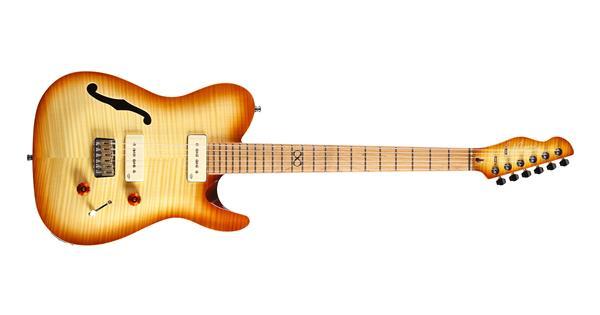 chapman guitars ml3 pro semi hollow traditional vintage honey burst evenstad musikk. Black Bedroom Furniture Sets. Home Design Ideas