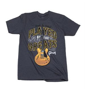 Gibson Played By The Greats T, Medium (Charcoal)