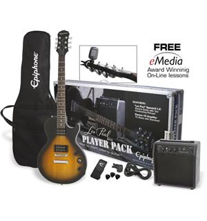 Epiphone Les Paul Players Pack Vintage Sunburst CF