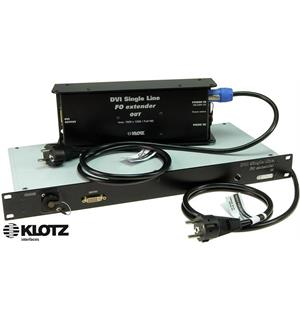 Klotz EXT1K12O DVI Extender Set, MMF, OpticalCON Duo