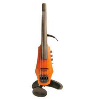 NS DESIGN CR5-VN-AS Electric Violin 5str m/etui - Amber Stained