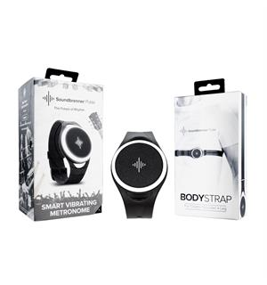 Soundbrenner Pulse + Body Strap Bundle Smart vibrating metronome
