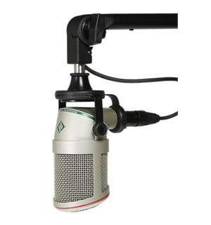 Neumann BCM 705 Broadcast microphone with cardioid dynamic c