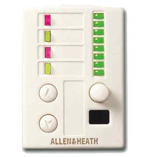 A&H iDR 2 Switch & 4 r LED IR reciever PL-ANET Wall Plate
