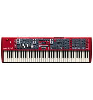 Nord Stage 3 Compact 73 Semi Weighted Waterfall Keys
