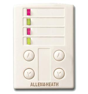 A&H iDR 4 Switch & 4 LED PL-ANET Wall Plate