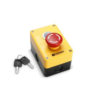 Cameo EKS XLR Emergency Stop Switch With Key Control