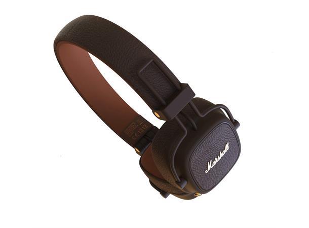 114a6a85 Marshall Major III-BT Brown Bluetooth Headphones - Evenstad Musikk