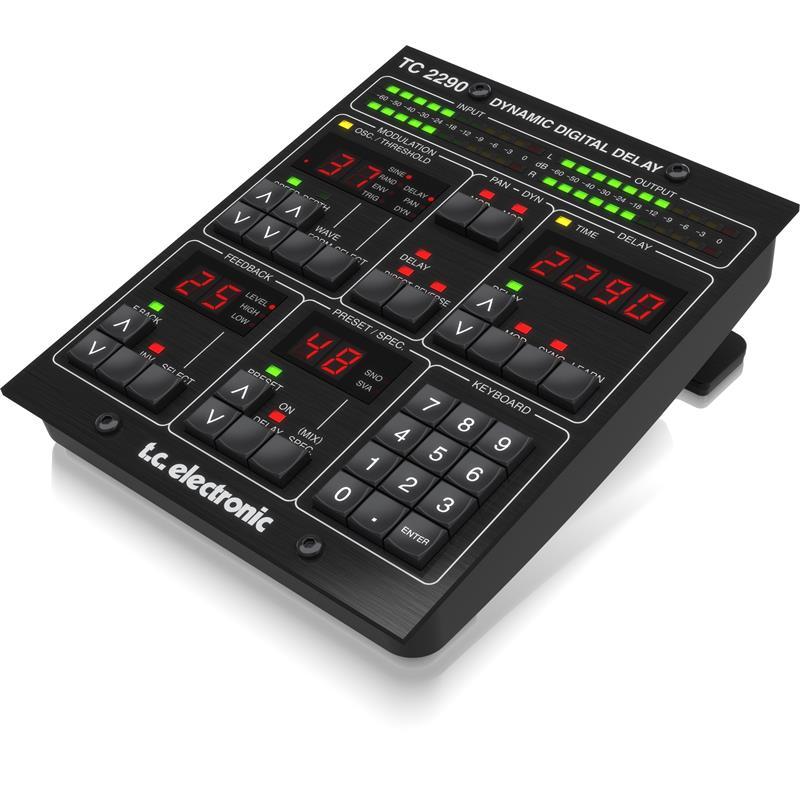 TC Electronic 2290-Dt Dynamic Delay Desktop Control