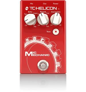 TC-Helicon Mic Mechanic 2 Vocal Effects Stompbox