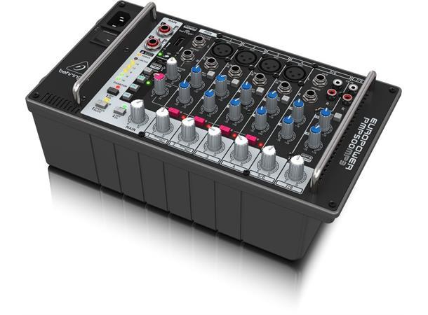 behringer pmp500mp3 500w 8 channel powered mixer evenstad musikk. Black Bedroom Furniture Sets. Home Design Ideas