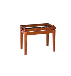 K&M 13740 Pianobenk tre-ramme, cherry matt finish