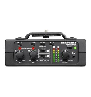Marantz PMD-602A 2ch. Interface 2-channel DSLR Audio Interface