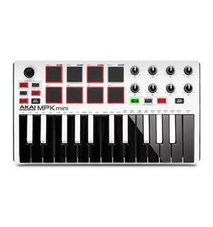 Akai MPK Mini Mk2 Ltd. Ed. White KeyboardKontroller