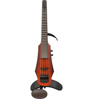 NS DESIGN NXT5aF-VN-SB El Fretted Violin 5-str. Aktiv, Sunburst