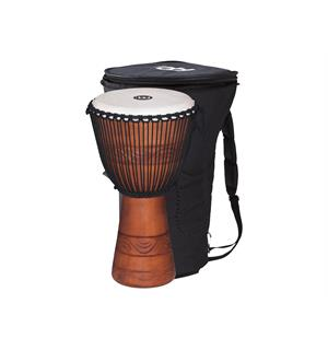 "Meinl ADJ2-L African Djembe, Large m/Bag (12"") Brown (G)"