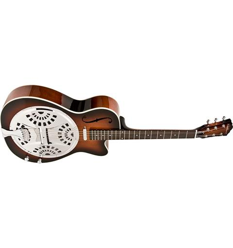 Washburn Guitars R15RCE Americana Resonator Cutaway Tobacco Sunburst