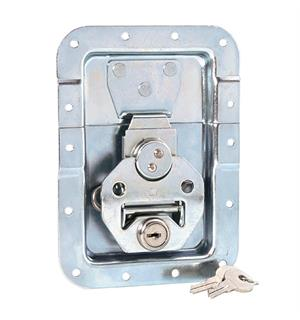 Adam Hall Hardware 17251 LS - Butterfly Latch large with Spr