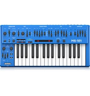 Behringer MS-101-BU Blue Analogue synthesizer