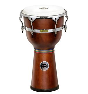 "Meinl FloaTune DJW-3-AB Wood Djembe 12"", Afr.Brown (M)"
