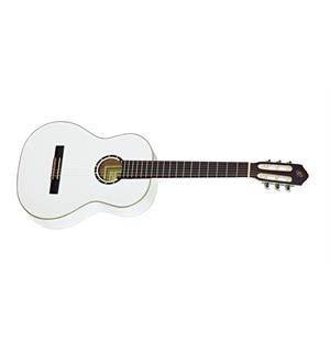 Ortega R121LWH Klassisk gitar 4/4 Left, Gloss White