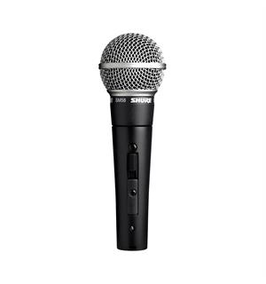 Shure SM58SE microphone dynamic cardioid vocal, switch