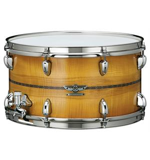 "Tama TMBS158SO-COB Star Reserve Snare V2 Bubinga/Maple15x8"" Olive Ash Other Ply"""