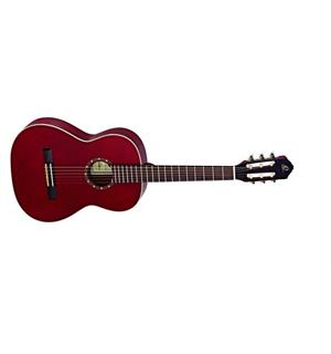Ortega R121-7/8WR Klassisk gitar 7/8 Gloss Wine Red