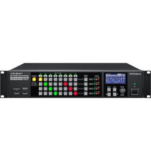 Roland XS-84H Multi format video switcher 8-in x 4-out