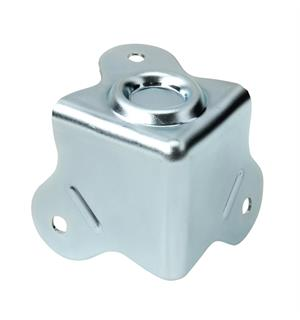 Adam Hall Hardware 4006-05 - Case Corner three-leg with Stac