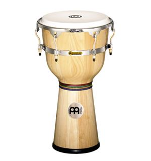 "Meinl FloaTune DJW-3-NT Wood Djembe 12"", Natural (M)"