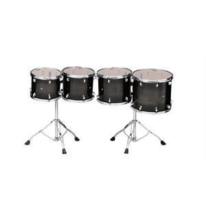 Tama CCLT4L-TPB Consert Tom Tom 4pcs set, Low Pitch
