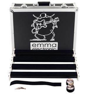 emma electronic AmARHyll 61 Deep (46 cm) Pedalboard with hard case, 61cm wide