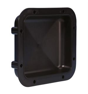 Adam Hall Hardware 34030 - Plastic Dish for Mounting inside