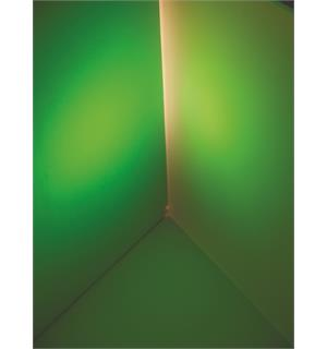 EUROLITE Dichro, green, frosted, 165x132mm