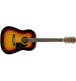 Fender CD-60 Dread V3 DS Sunburst, Walnut Fingerboard