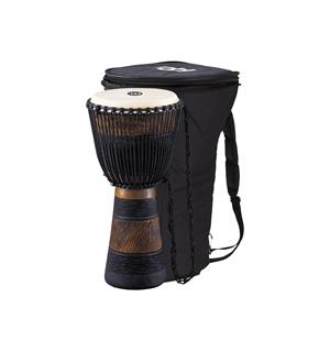 "Meinl ADJ3-L African Djembe, Large m/Bag (12"") Brown/Blk (G)"