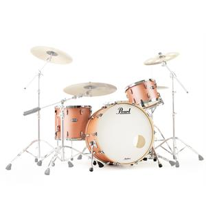 "Pearl Masters Maple Complete 22"" Rock 3pc Shellpack - Satin Sakura Coral"