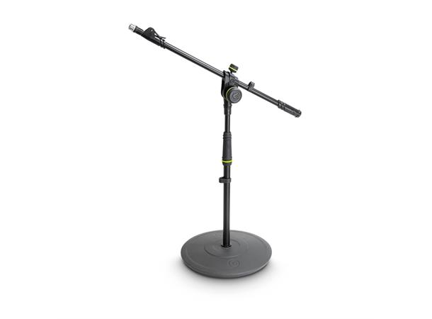 Gravity MS 2222 B short microphone stand with round base