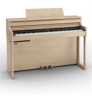 Roland HP704-LA Digital Piano Light Oak