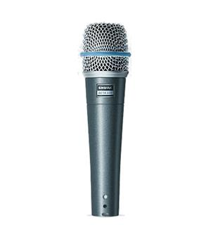 Shure Beta57A microphone dynamic vocal, instruments