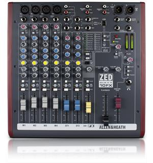 A&H ZED60-10FX 4 Mono 2 Stereo with USB