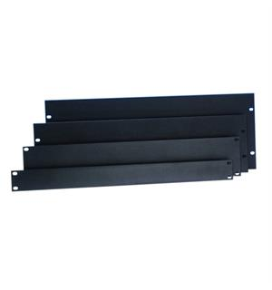 "Adam Hall 19"" Parts 8722 - Rack Panel 2 U aluminum b"