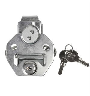 Adam Hall Hardware 17250 CL - Butterfly Latch large lockable