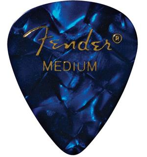 Fender Blue Moto, 351 Shape, Medium (12) BLUE MOTO (12PK) MED