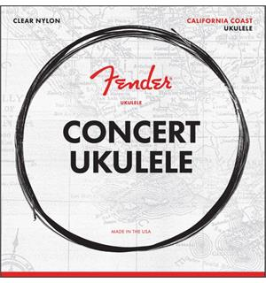 Fender Concert Ukulele Strings Set of Four